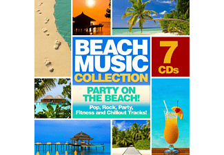 VARIOUS - Beach Music Collection: 7cd's - Party On The Beach! - (CD)