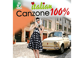 VARIOUS - ITALIAN CANZONE 100% [CD]