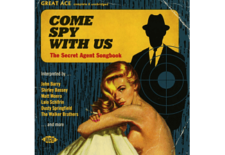 VARIOUS - Come Spy With Us- The Secret Agent Songbook - (CD)
