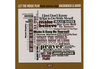 VARIOUS - Let The Music Play-Black America Sings Bacharach & David [CD]
