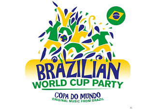 VARIOUS - Brazilian World Cup Party - (CD)