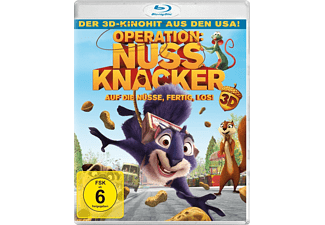 OPERATION NUSSKNACKER (3D) [3D Blu-ray]