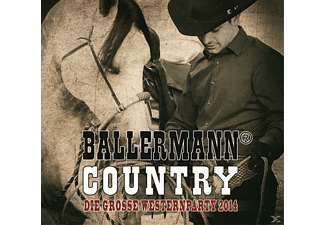 VARIOUS - Ballermann Country - Die Große Western Party 2014 - (CD)