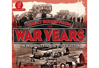 VARIOUS - Great Songs From The War Years - (CD)