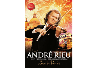 André Rieu and his Johann Strauss Orchestra - Love in Venice (DVD)