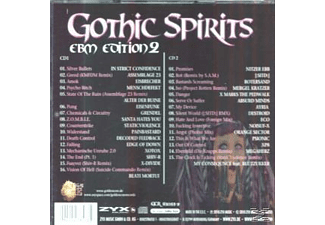 VARIOUS - Gothic Spirits Ebm Edition 2 - (CD)