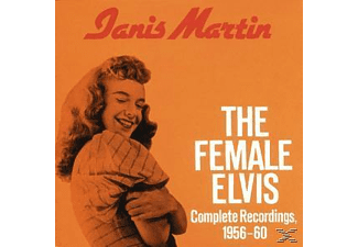 Janis Martin - The Female Elvis/Complete Recordings 1965-60 [CD]