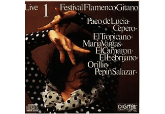 Festival Flamenco Gitano - Live Vol.1 [CD]