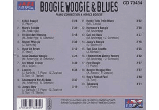 Piano Connection / Marcs Boogie - Boogie Woogie & Blues - (CD)