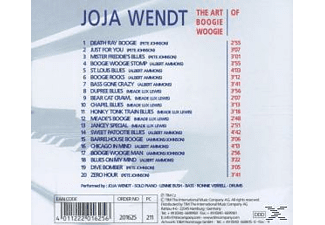 Joja Wendt - The Art Of Boogie Woogie (Various) - (CD)