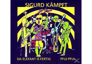 Sigurd Kämpft - Da Elefant Is Fertig/Pfui Pfui [CD]