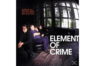 Element Of Crime - Immer Da Wo Du Bist Bin Ich Nie - (Vinyl)
