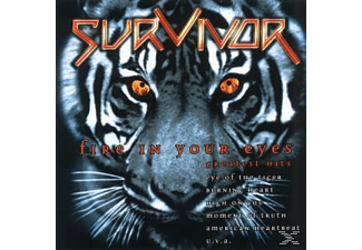 Survivor - Fire In Your Eyes-Greatest Hits [CD]