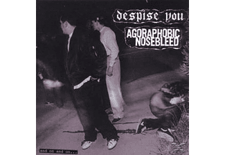 Agoraphobic Nosebleed/Despise You - And On And On - (CD)