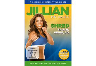 Jillian Michaels - Shred - Bauch, Beine, Po [DVD]