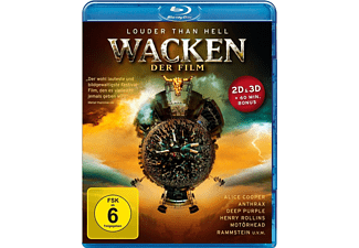 Wacken - Der Film - (3D BD&2D BD, Blu-Ray)