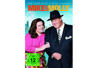 Mike & Molly - Staffel 4 - (DVD)
