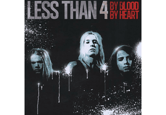 Less Than 4 - By Blood By Heart - (CD)