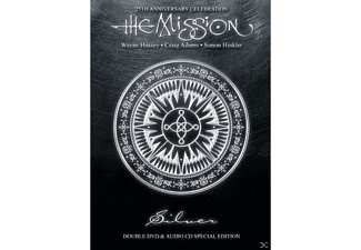The Mission - Silver - (CD + DVD Video)