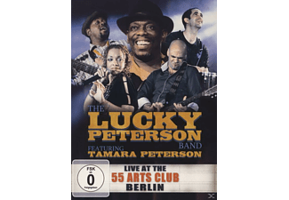 The Lucky Peterson Band, Peterson Tamara - Live At The 55 Arts Club Berlin - (CD + DVD Video)