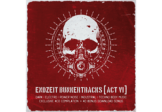 VARIOUS - Endzeit Bunkertracks (Akt Vi) [CD]