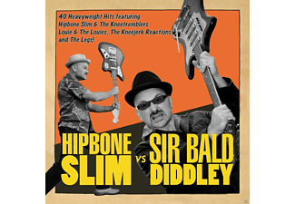 Hipbone Slim & The Knee Tremblers, Louie & The Louies, Kneejerk Reactions, Legs - Hipbone Slim Vs Sir Bald Didley - (CD)
