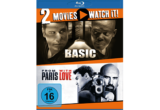 Doppel-Schocker: Basic + From Paris with Love [Blu-ray]
