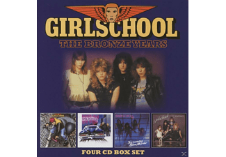 Girlschool - The Bronze Years - (CD)
