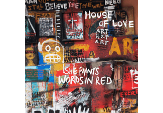The House Of Love - She Paints Words In Red - (CD)