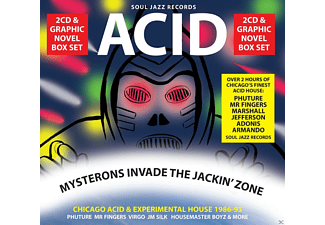 VARIOUS - Acid-Mysterons Invade The Jackin' Zone - (CD)