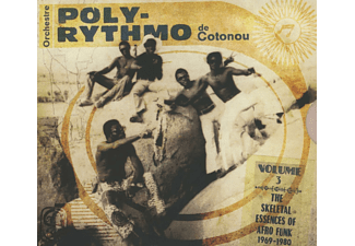 Orchestre Poly-rythmo De Cotonou - The Skeletal Essences Of Voodoo Funk [CD]