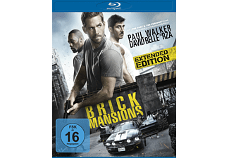Brick Mansions (Extended Edition) - (Blu-ray)