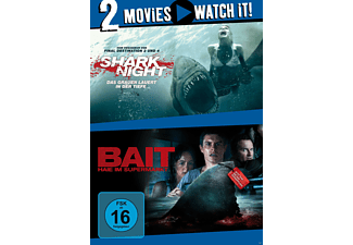 Shark Night / Bait - Haie im Supermarkt - (DVD)