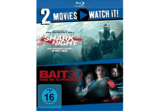 Shark Night / Bait - Haie im Supermarkt [3D Blu-ray]