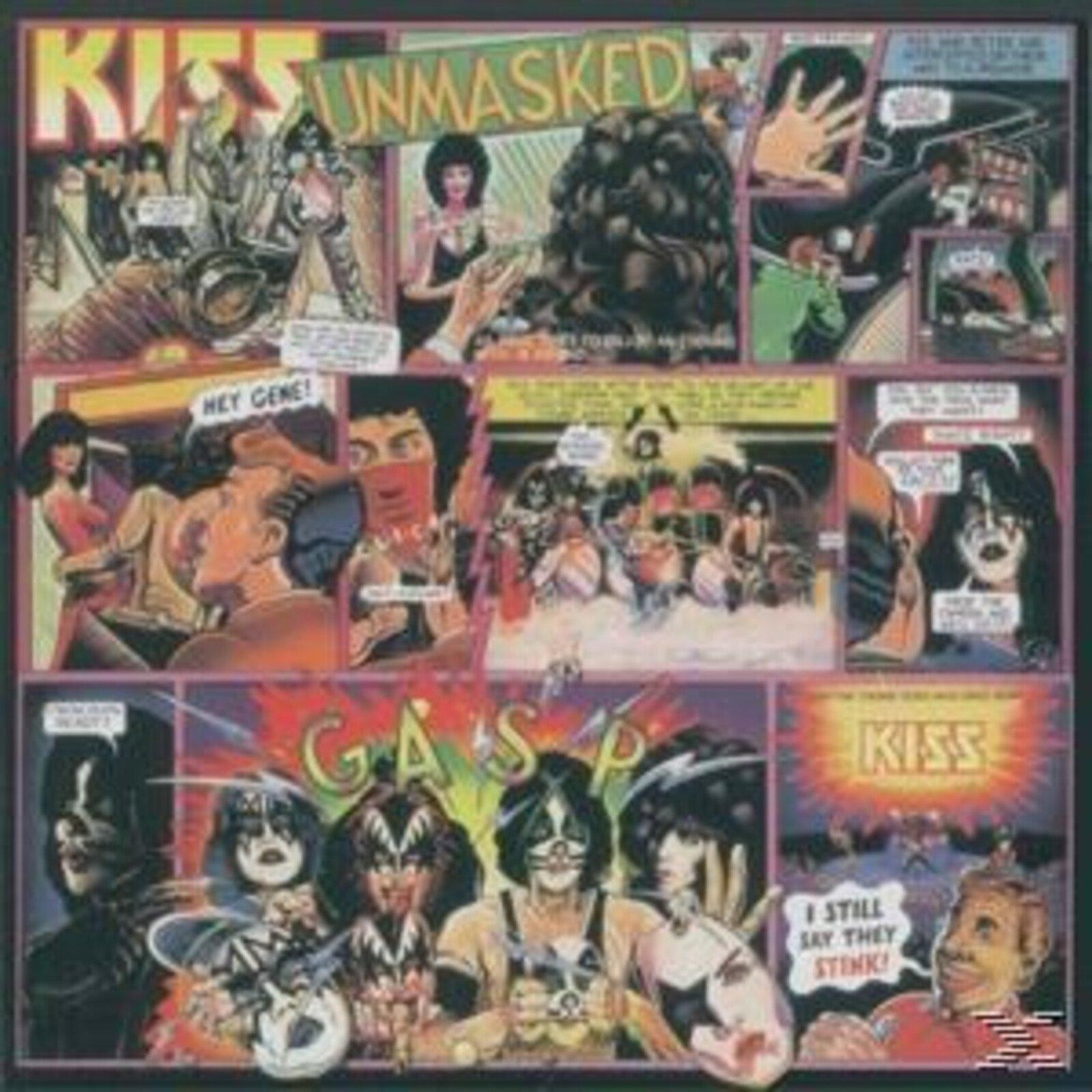 Kiss - Unmasked (Ltd.Back To Black Vinyl) - (Vinyl)