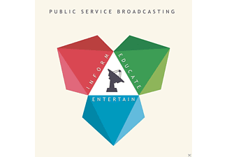Public Service Broadcasting - Inform - Educate - Entertain - (CD)