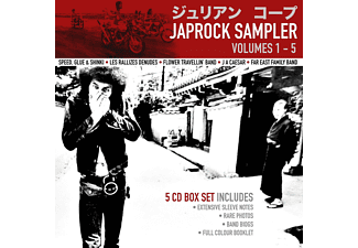 VARIOUS - Japrock Sampler Volumes 1-5 (5 Cd Box) - (CD)