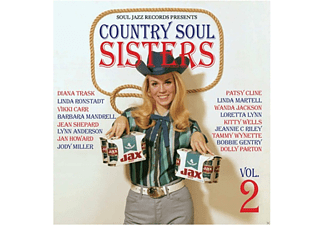 VARIOUS - Country Soul Sisters 2 (1956-1979) - (CD)