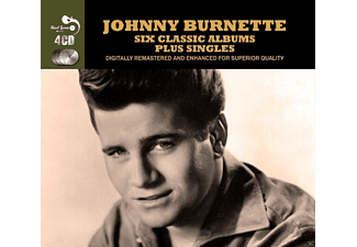 Johnny Burnette - Six Classic Albums Plus Singles (4 Cd Box) - (CD)