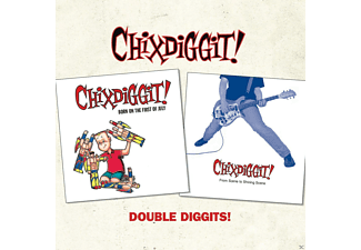 Chixdiggit - Double Diggits! - (CD)