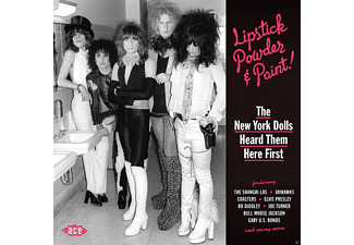 VARIOUS - Lipstick Powder & Paint! The New York Dolls Heard - (CD)