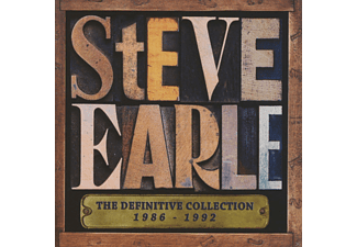 Steve Earle - The Definitive Collection 1986-1992 - (CD)