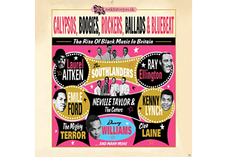 VARIOUS - Calypsos, Boogies, Rockers, Ballads & Bluebeat [CD]