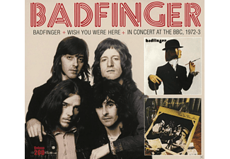 Badfinger - Badfinger & Wish You Were Here & In Concert At The [CD]