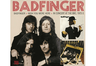 Badfinger - Badfinger & Wish You Were Here & In Concert At The - (CD)