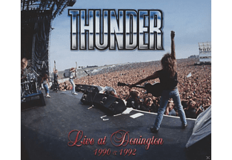 Thunder - Live At Donington 1990 & 1992 (Cd+Dvd, Box-Set) - (CD + DVD)