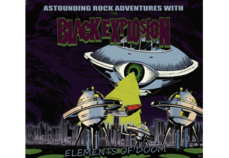 Black Explosion - Elements Of Doom - (CD)