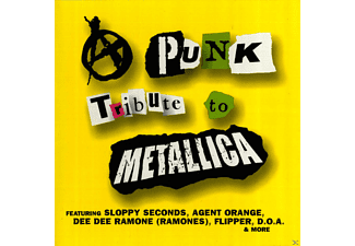 VARIOUS - Punk Tribute To Metallica - (CD)