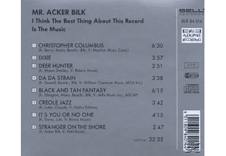 Mr. Acker Bilk - I Think The Best Thing About This Record Is The Music [CD]