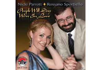 Nicki Parrott, Rossano Sportiello - People Will Say We' Re In Love [CD]